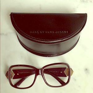 Marc by Marc Jacobs sunglasses/glasses plum color